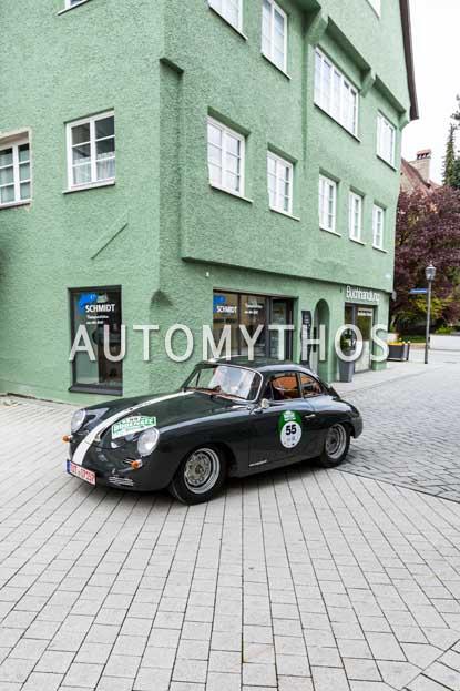 Automythos | 6. Bodensee Klassik 2017 | 55 | Heinrich Engesser & Sylvia Engesser | Porsche 356 B