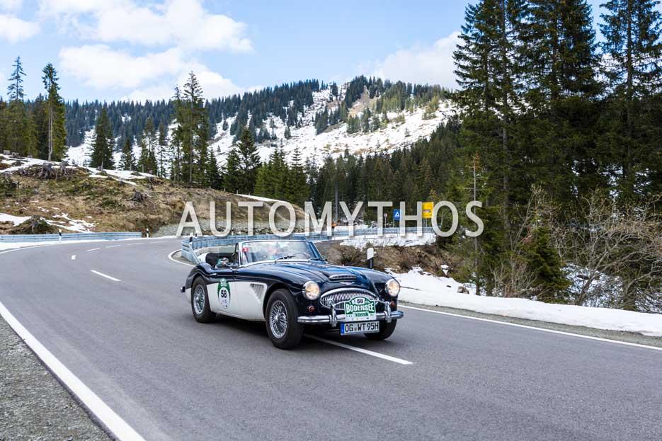 Automythos | 6. Bodensee Klassik 2017 | 58 | Werner Tschiggfrei & Hannelore Tschiggfrei | Austin-Healey 3000 Mk IIa BJ7