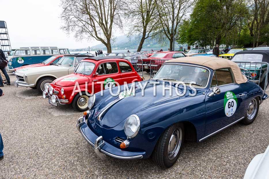 Automythos | 6. Bodensee Klassik 2017 | 60 | Prof. Dr. Thomas Zeller & Silvia Zeller | Porsche 356 B T6 Cabriolet