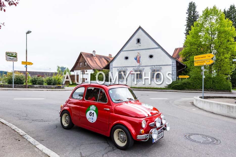 Automythos | 6. Bodensee Klassik 2017 | 61 | Michael Rauth & Evelyn Rauth | Steyr-Puch 500 D