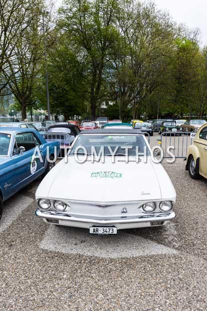 Automythos | 6. Bodensee Klassik 2017 | 67 | Albert Oberholzer & Kathrin Exer-Oberholzer | Chevrolet Corvair Monza Spyder