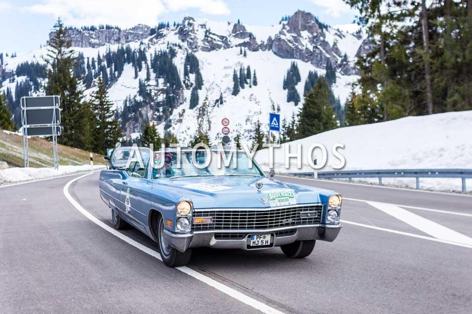 Automythos | 6. Bodensee Klassik 2017 | 69 | Christoph Hardelt & Beate Hardelt | Cadillac DeVille