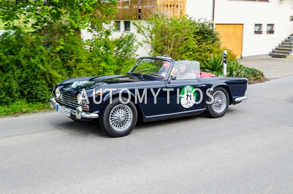 Automythos | 6. Bodensee Klassik 2017 | 71 | Ralf Schmitz & Stefan Rath | Triumph TR4A