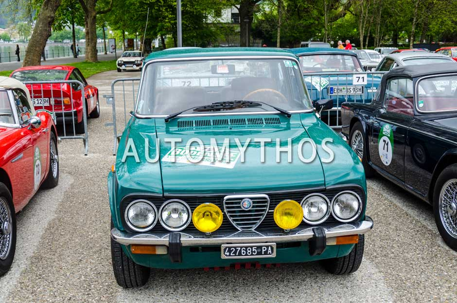 Automythos | 6. Bodensee Klassik 2017 | 72 | Sandro Rasà & Giovanni Rasà | Alfa Romeo Giulia Super