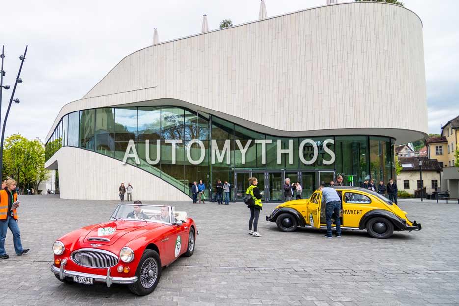 Automythos | 6. Bodensee Klassik 2017 | 73 | Kurt Zehender & Ralf Kirstein | Austin-Healey 3000 Mk III