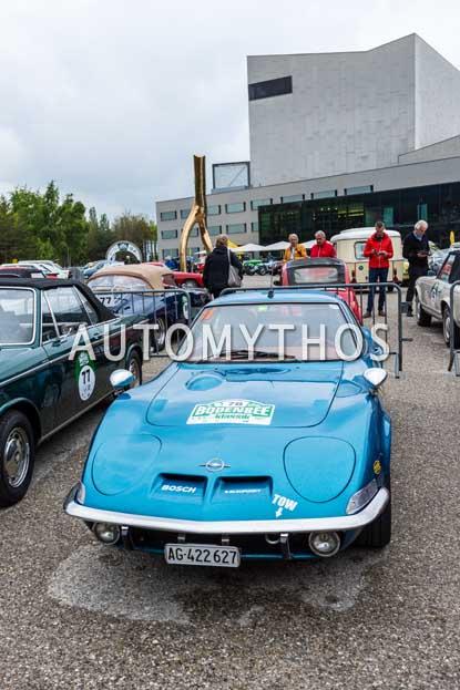 Automythos | 6. Bodensee Klassik 2017 | 78 | Christina de Moura & Paulo de Moura | Opel GT