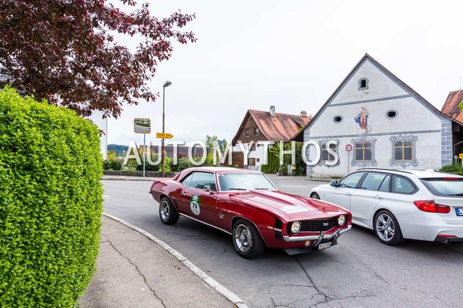 Automythos | 6. Bodensee Klassik 2017 | 79 | Peter Hegner & Philipp Wachter | Chevrolet Camaro SS