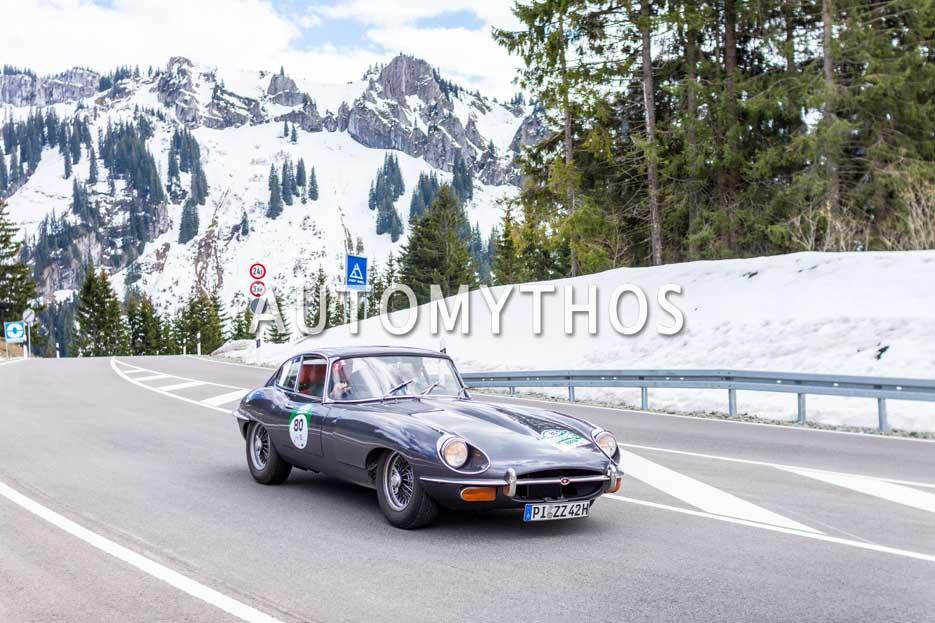 Automythos | 6. Bodensee Klassik 2017 | 80 | Kai Eckert & Georg Wartelsteiner | Jaguar E-Type Series 2