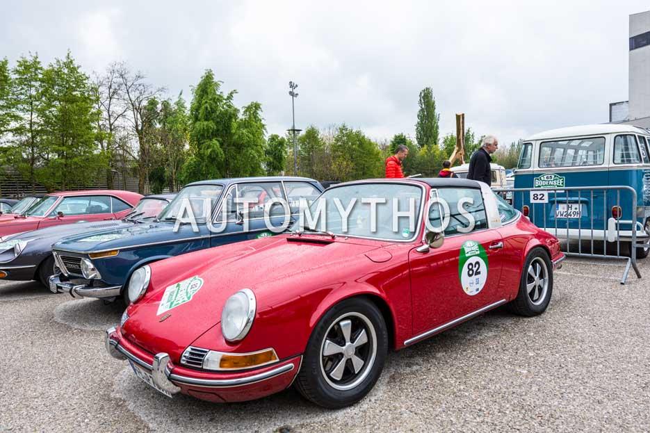 Automythos | 6. Bodensee Klassik 2017 | 82 | Christian Madey & Britta-Christin Rehberg | Porsche 911 E Targa