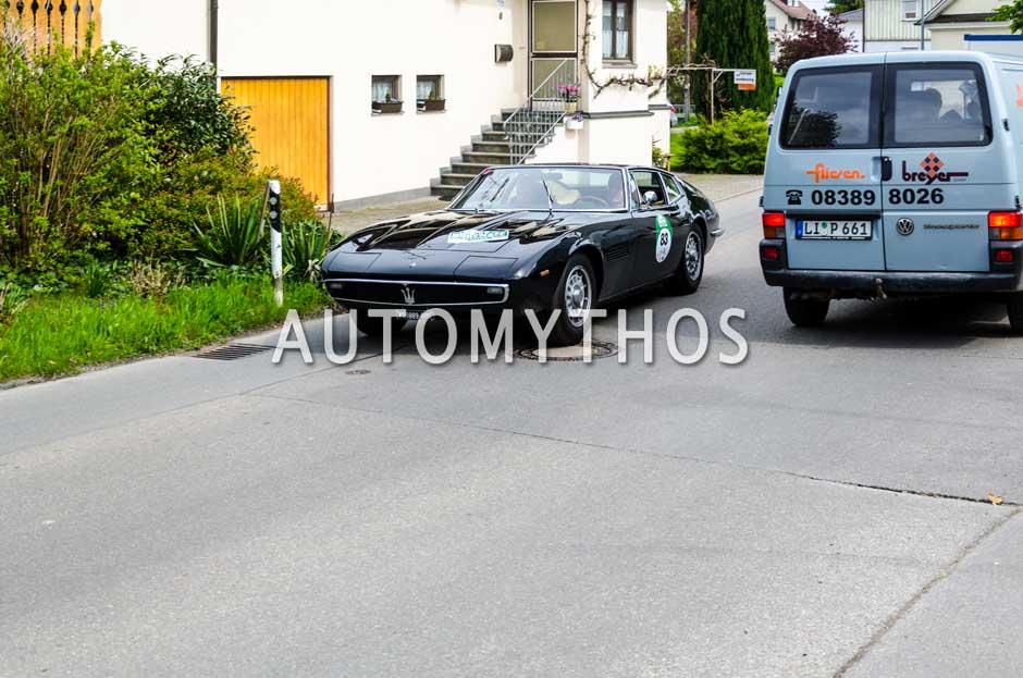 Automythos | 6. Bodensee Klassik 2017 | 83 | Malte Klarczyk & Diane Reyher | Maserati Ghibli SS