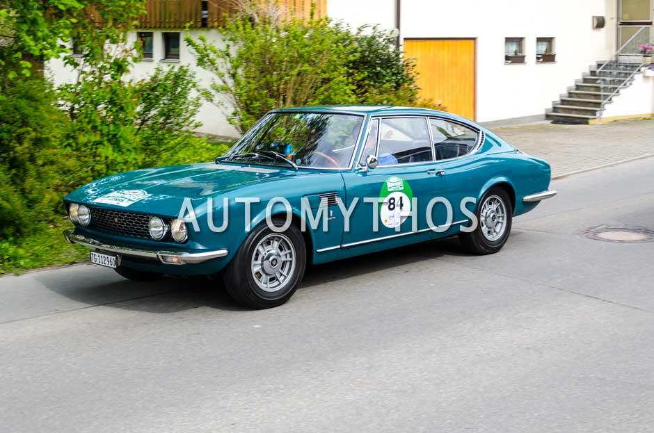 Automythos | 6. Bodensee Klassik 2017 | 84 | Bernhard Riedel & Sebastian Gräf | Fiat Dino Coupé