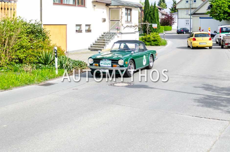 Automythos | 6. Bodensee Klassik 2017 | 98 | Frank Wiedemeijer & Karin Berger | Triumph TR6 PI