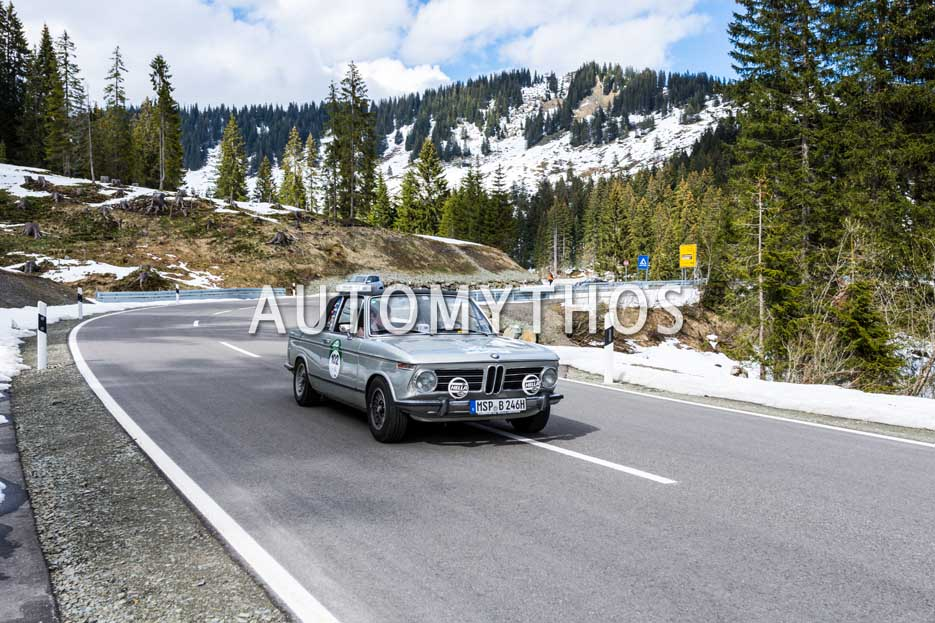 Automythos | 6. Bodensee Klassik 2017 | 102 | Karlheinz Schott & Anette Kreier | BMW 2002 Targa