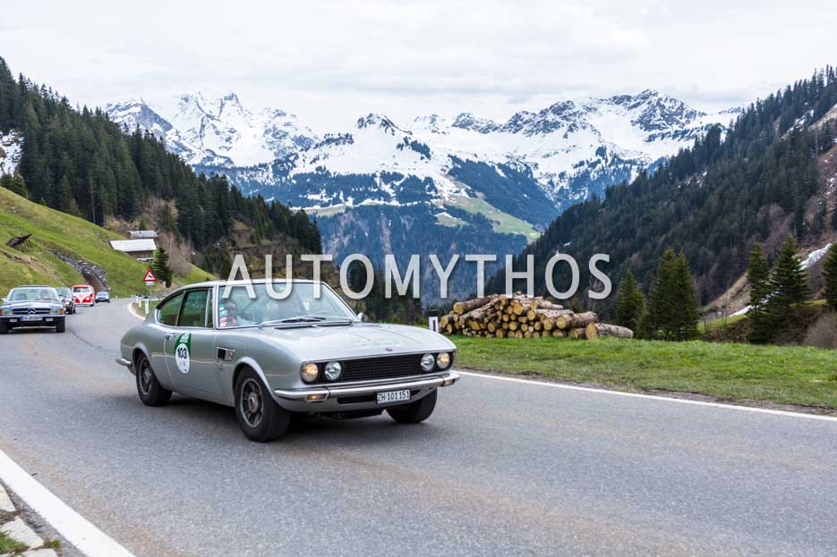 Automythos | 6. Bodensee Klassik 2017 | 103 | Eldino Capuzzi & Elena Pisaniello | Fiat Dino