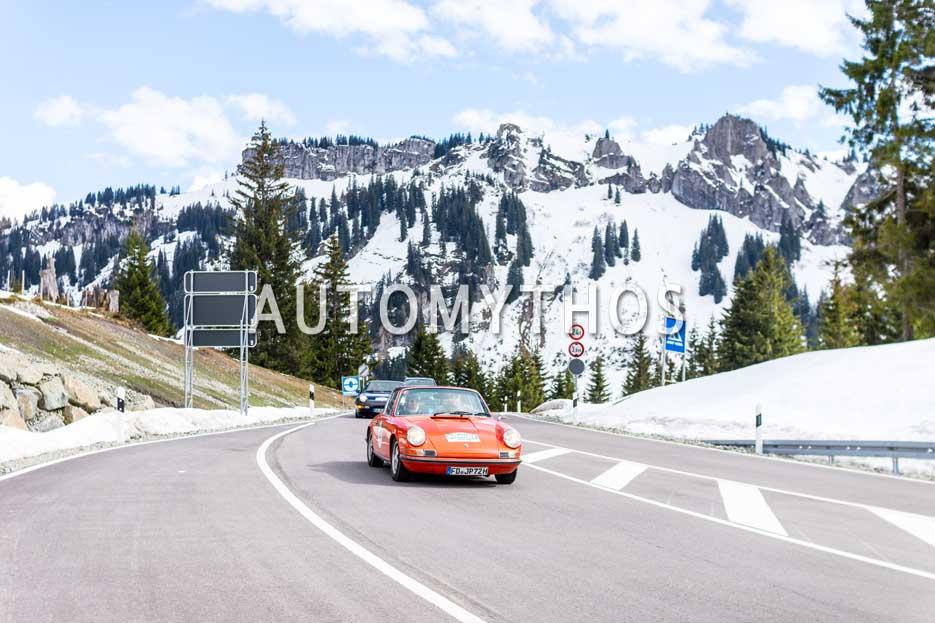 Automythos | 6. Bodensee Klassik 2017 | 105 | Jörg Kaffanke & Petra Kaffanke | Porsche 911 T 2.4 Targa