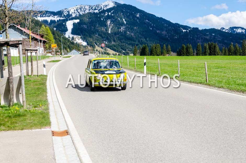 Automythos | 6. Bodensee Klassik 2017 | 106 | Gerhard Finster & Verena Finster | Simca Rallye 2