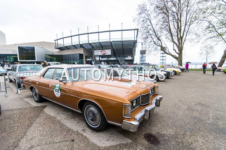 Automythos | 6. Bodensee Klassik 2017 | 108 | Walter Koch & Petra Steinbach | Ford LTD Brougham
