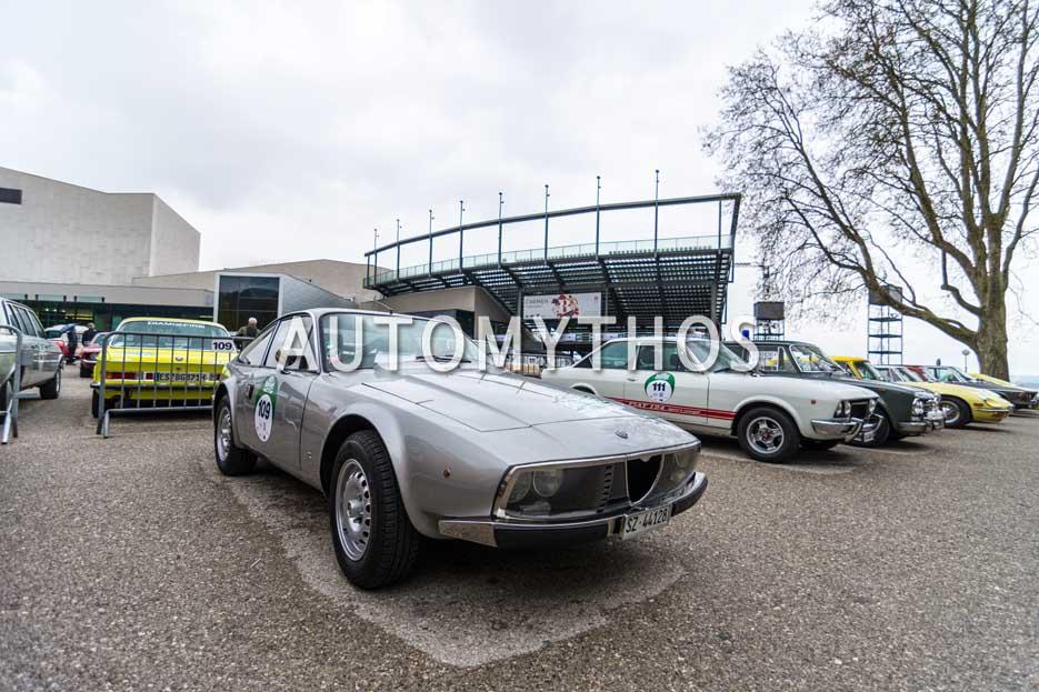 Automythos   6. Bodensee Klassik 2017   109   Dave Kocherhans & Ursula Sutter   Alfa Romeo 1600 Zagato Junior