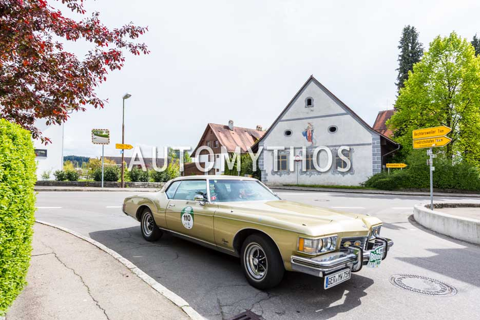 Automythos | 6. Bodensee Klassik 2017 | 110 | Andreas Müller-Witt & Patricia Müller-Witt | Buick Riviera GS Stage 1