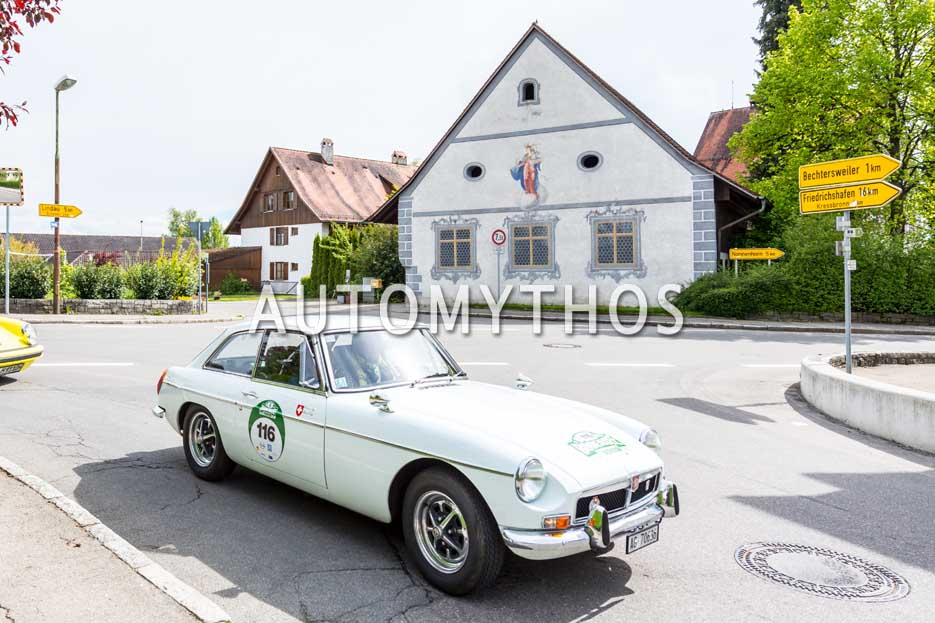 Automythos | 6. Bodensee Klassik 2017 | 116 | Werner Sigg & Muriel Sigg | MG MGB GT