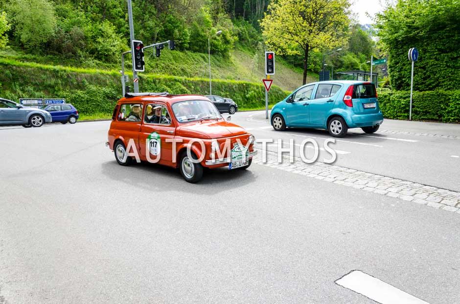 Automythos | 6. Bodensee Klassik 2017 | 117 | Rüdiger Bonneß & Silvia Bonneß | Autobianchi Giardiniera
