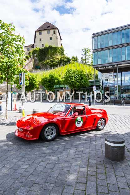 Automythos | 6. Bodensee Klassik 2017 | 120 | Thomas Groschek & Anke Groschek | Volkswagen-Porsche 914 Lennert-Umbau