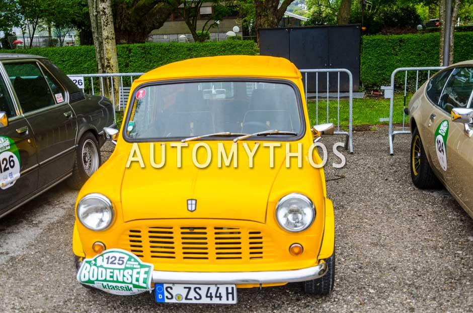 Automythos | 6. Bodensee Klassik 2017 | 125 | Alexander Koch & Corinna Koch | Mini Van