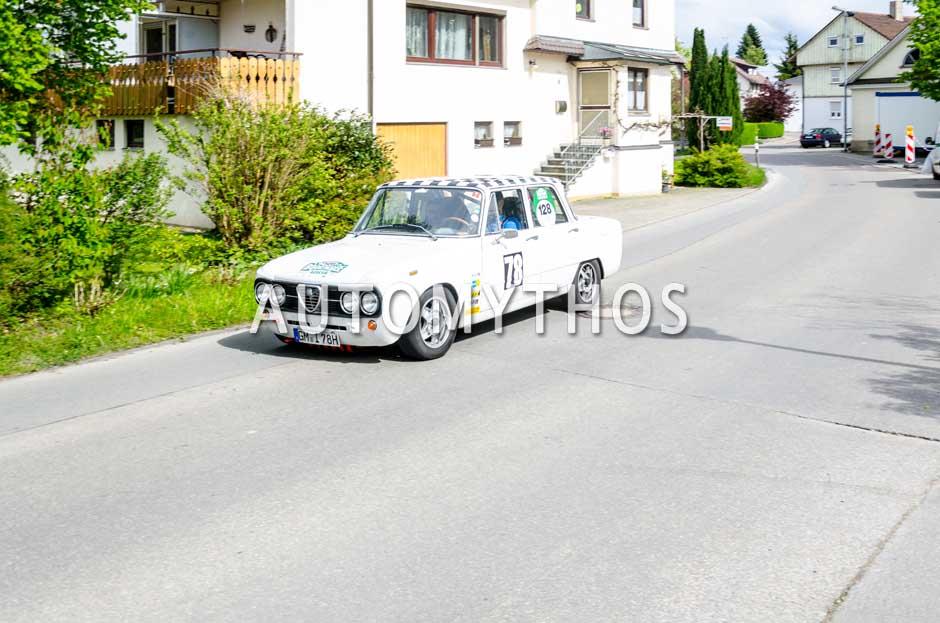 Automythos | 6. Bodensee Klassik 2017 | 128 | Andreas Brunsbach & Thomas Kofler | Alfa Romeo Giulia Nuova Super 1600 L