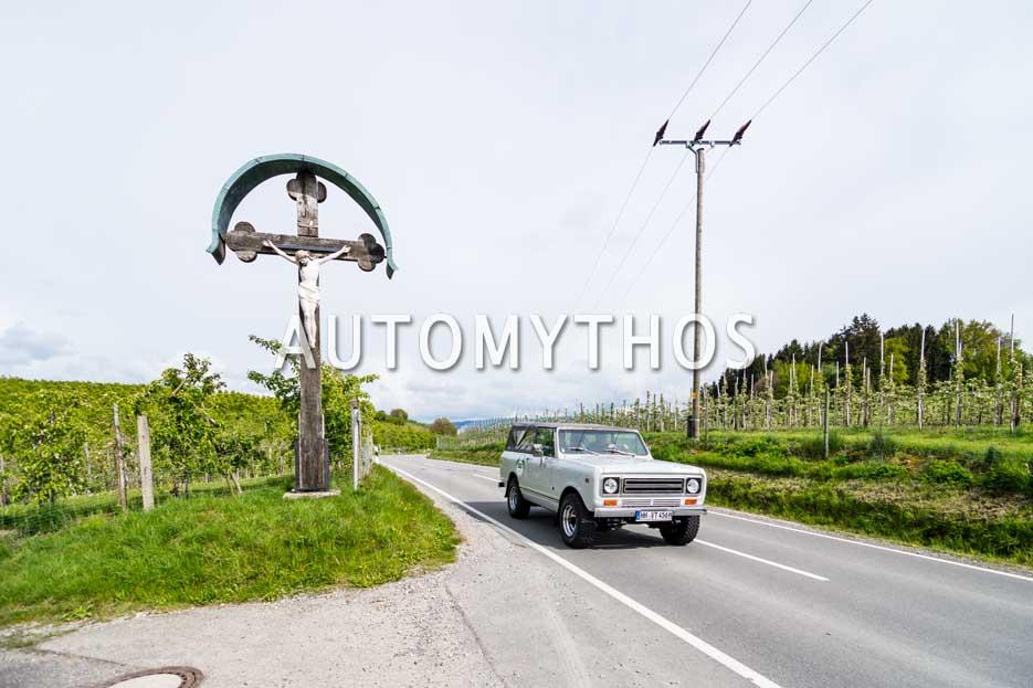 Automythos | 6. Bodensee Klassik 2017 | 130 | Stephan Schlueter & Carsten Zwerg | International Harvester Scout 2