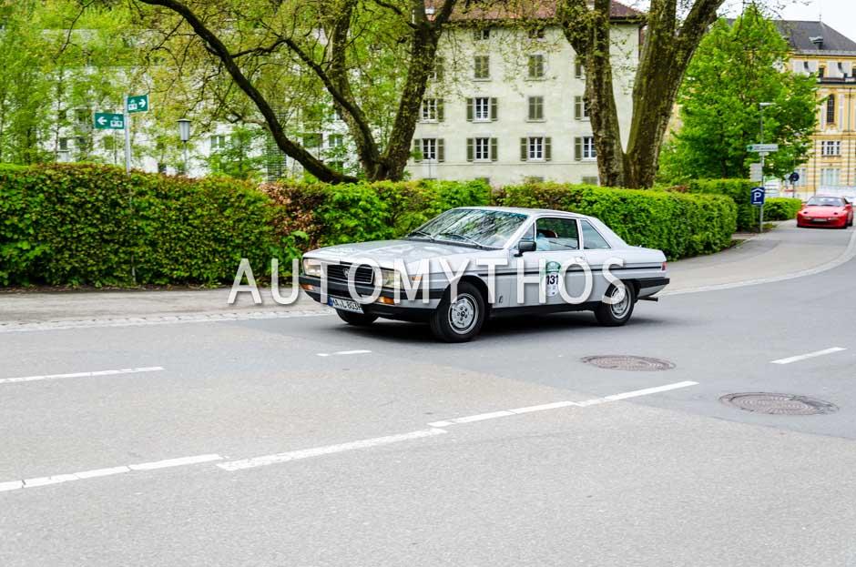 Automythos | 6. Bodensee Klassik 2017 | 131 | Gerhard Arnold & Klaus Traeger | Lancia Gamma Coupé