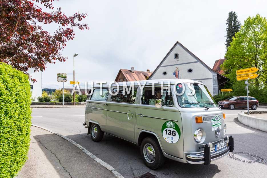 Automythos   6. Bodensee Klassik 2017   136   Fritz Karl & Elena Uhlig   Volkswagen T2
