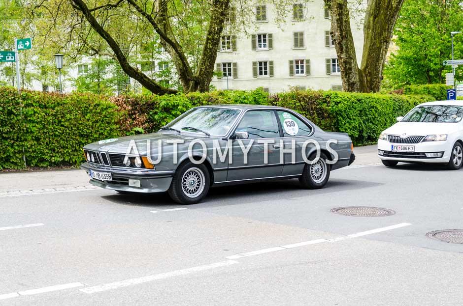 Automythos   6. Bodensee Klassik 2017   139   Katharina Walther & Bertil Majer   BMW 635 CSi