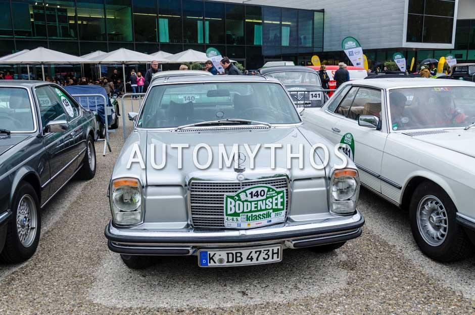 Automythos | 6. Bodensee Klassik 2017 | 140 | Michael Sips & Uwe Benning | Mercedes-Benz 280 CE