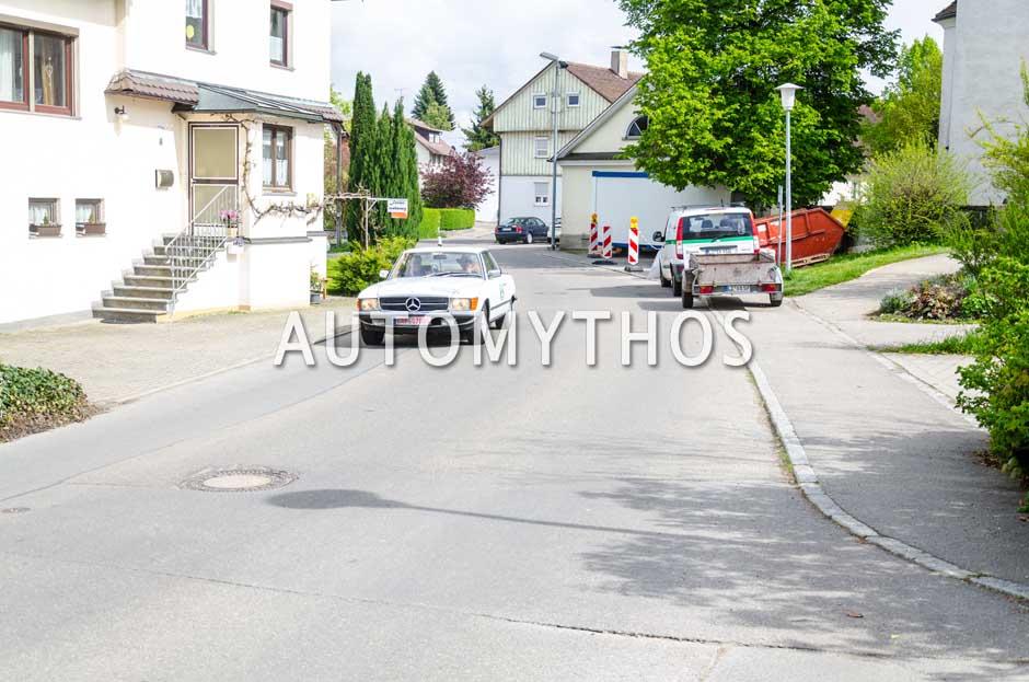 Automythos | 6. Bodensee Klassik 2017 | 141 | Alexander v. Smekal & Uli v. Smekal | Mercedes-Benz 500 SLC
