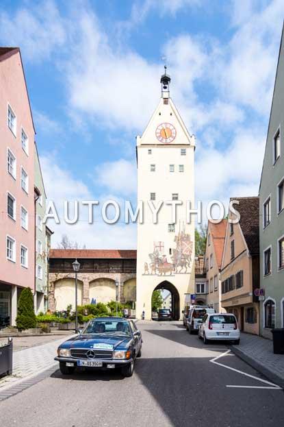 Automythos | 6. Bodensee Klassik 2017 | 142 | Otto Schröfelbauer & Silvia Riegler | Mercedes-Benz 350 SLC
