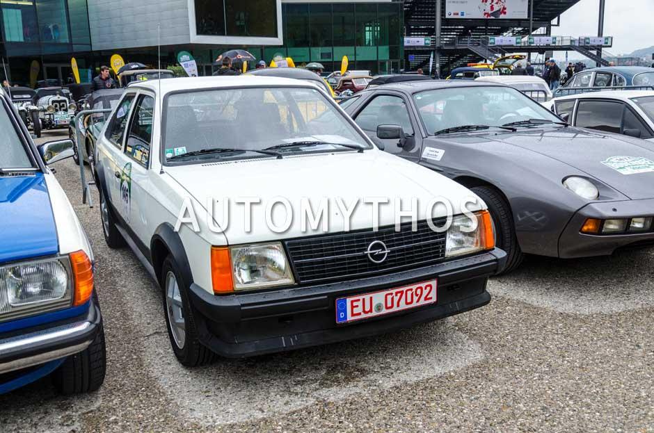 Automythos | 6. Bodensee Klassik 2017 | 146 | Gabriele Potjans & Thomas Würzburg | Opel Kadett D SR