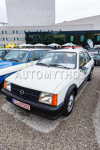 Automythos   6. Bodensee Klassik 2017   146   Gabriele Potjans & Thomas Würzburg   Opel Kadett D SR