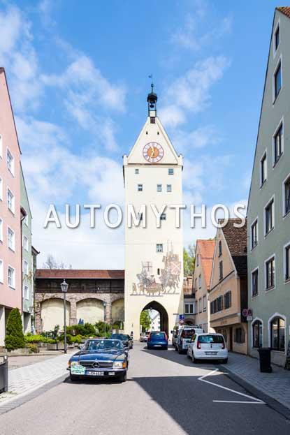 Automythos | 6. Bodensee Klassik 2017 | 149 | Christoph Hilser & Johannes Odenhausen | Mercedes-Benz 280 SL
