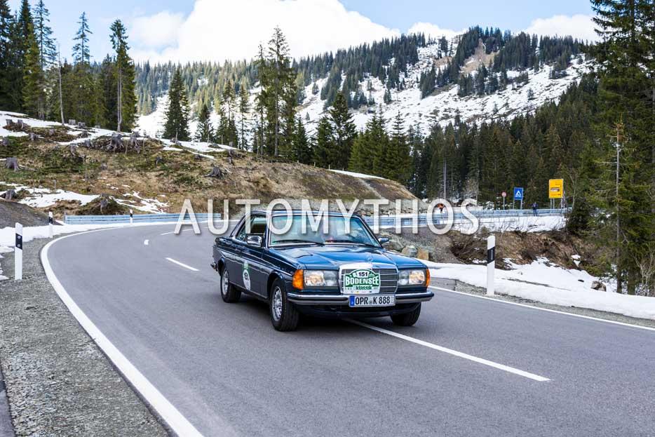 Automythos | 6. Bodensee Klassik 2017 | 151 | Hans-Jürgen Keitel & Isabel Born | Mercedes-Benz 280 CE