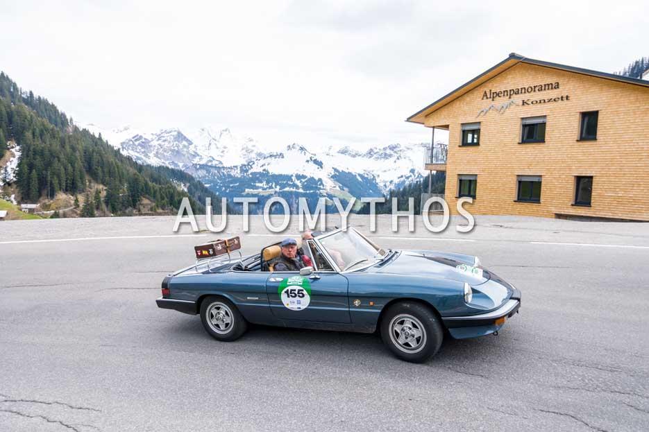 Automythos | 6. Bodensee Klassik 2017 | 155 | Thomas Nogaschewski & Günter Nogaschewski | Alfa Romeo Spider
