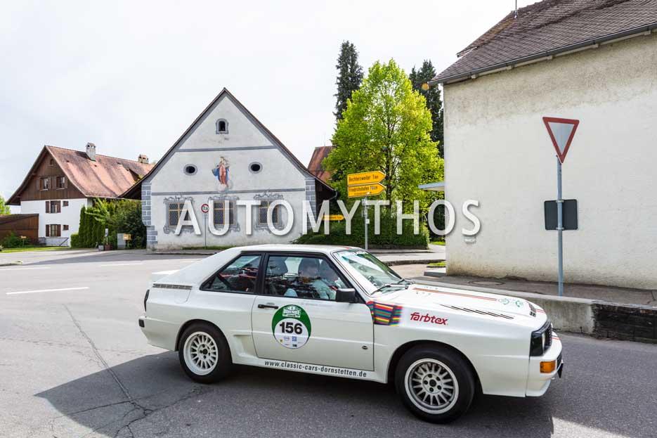 Automythos | 6. Bodensee Klassik 2017 | 156 | Horst Randecker & Dr. Hartmann Ladendorf | Audi Sport quattro