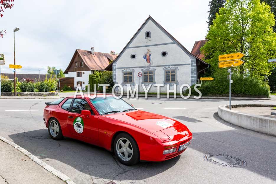 Automythos | 6. Bodensee Klassik 2017 | 158 | Volker Titze & Udo Fuchs | Porsche 944 Turbo
