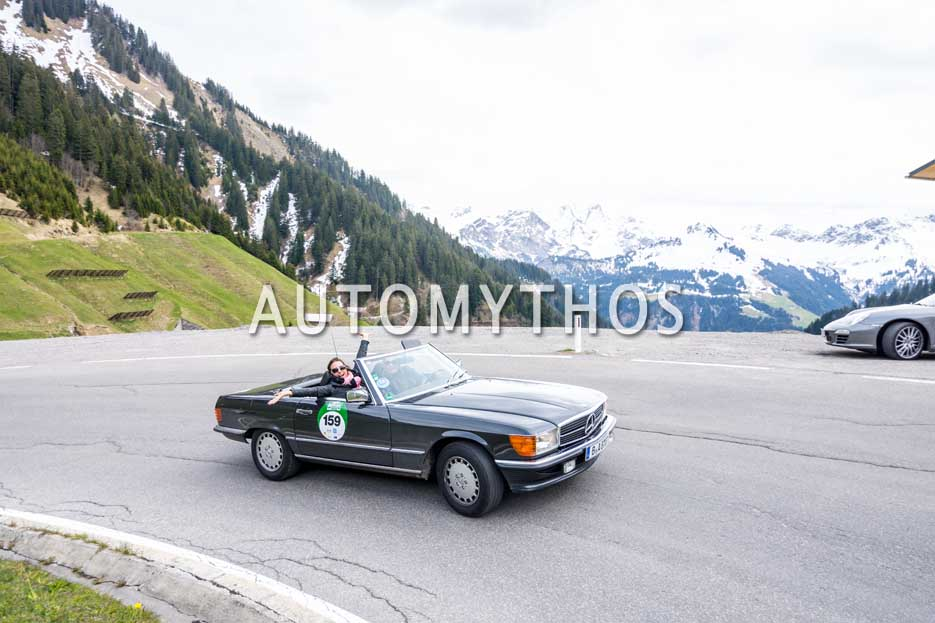 Automythos | 6. Bodensee Klassik 2017 | 159 | Anna Bruhn & Andrea Giebe | Mercedes-Benz 300 SL