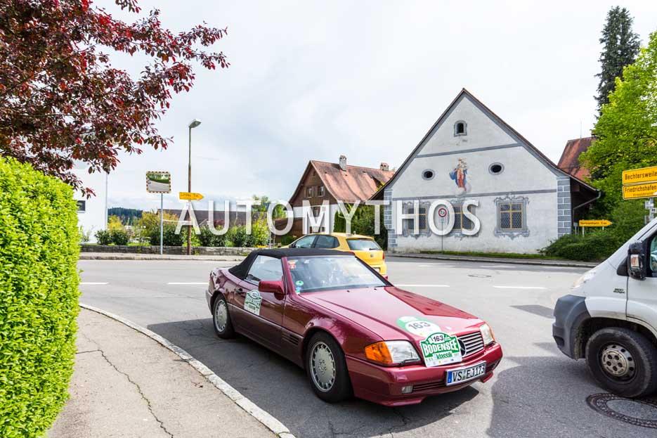 Automythos | 6. Bodensee Klassik 2017 | 163 | Jacques Beij & Eva Gölz | Mercedes-Benz 300 SL