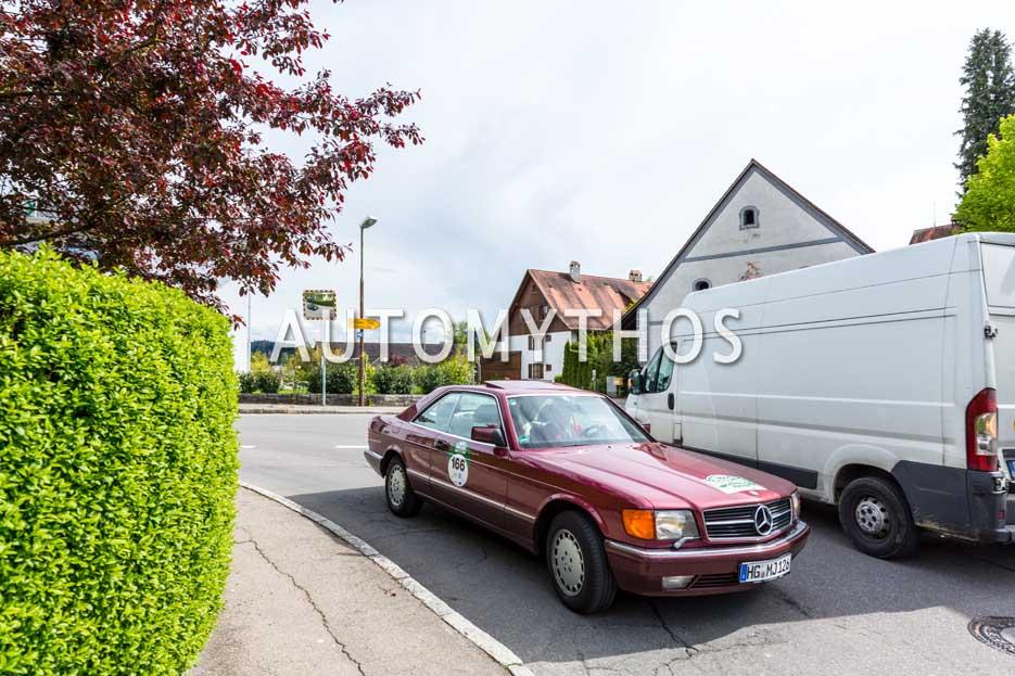 Automythos | 6. Bodensee Klassik 2017 | 166 | Matthias Junges & Brigitte Junges | Mercedes-Benz 500 SEC