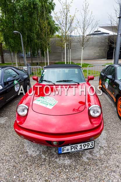 Automythos | 6. Bodensee Klassik 2017 | 173 | Marco Wimmer & Emilia Wimmer | Alfa Romeo Spider