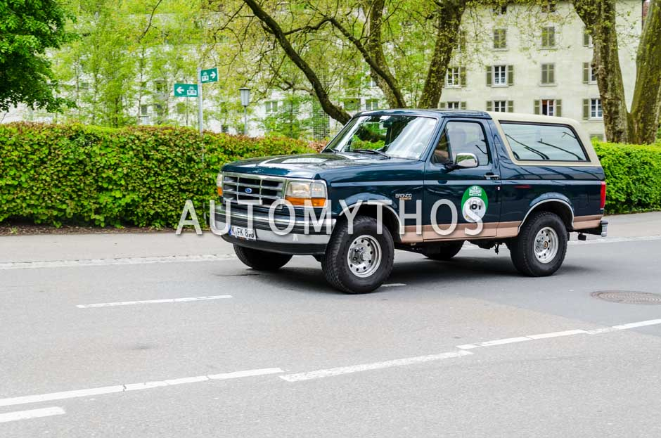 Automythos | 6. Bodensee Klassik 2017 | 181 | Bernhard Weinbacher & Hartwig Petersen | Ford Bronco