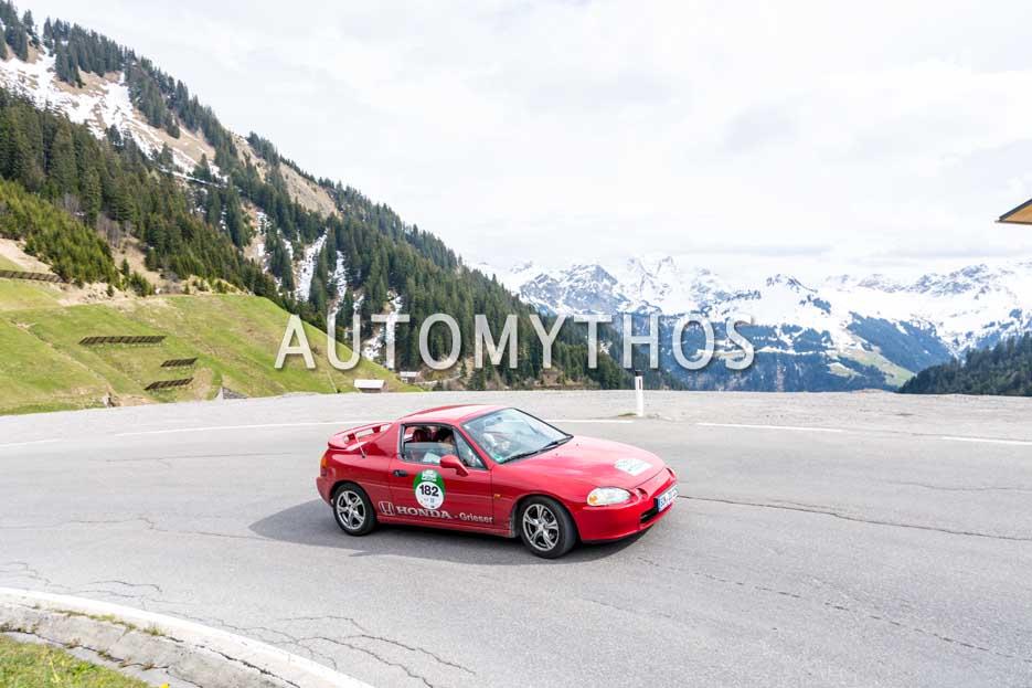 Automythos | 6. Bodensee Klassik 2017 | 182 | Jürgen Zobel & Helga Zorn | Honda Civic Coupé CRX del Sol