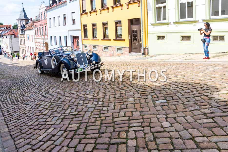 Automythos | 15. Sachsen Classic 2017 | 2 | Prof. Dr. Hans J. Naumann & Cornelia Felgner | Horch 853