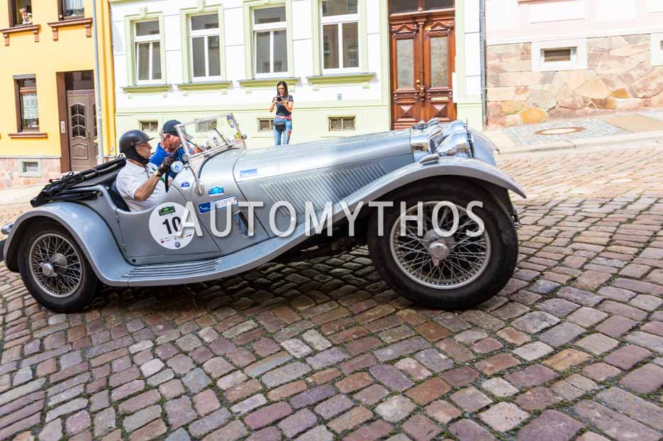 Automythos | 15. Sachsen Classic 2017 | 10 | Dieter W. Zens & Joachim Brauer | Jaguar SS 100